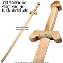 "35 1/2"" Wooden Tai Chi sword"