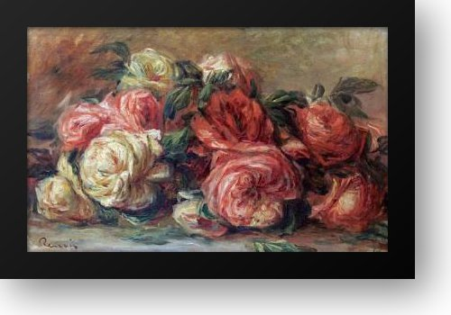 Discarded Roses 28x22 Framed Art Print by Renoir, Pierre-Auguste