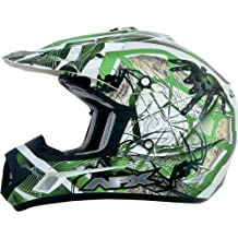 AFX FX-17Y Unisex-Child Off-Road-Helmet-Style Helmet (Trap Green, Small)