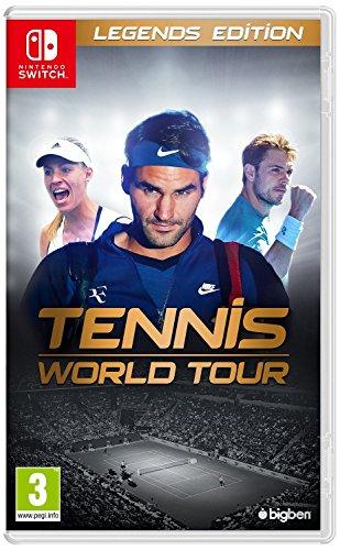 Tennis World Tour - Legends Edition (Nintendo Switch) UK IMPORT