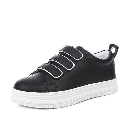 1a560999bfb46 Amazon.com: Tsing Yi Fashion Casual White Shoes Women Skateboarding ...
