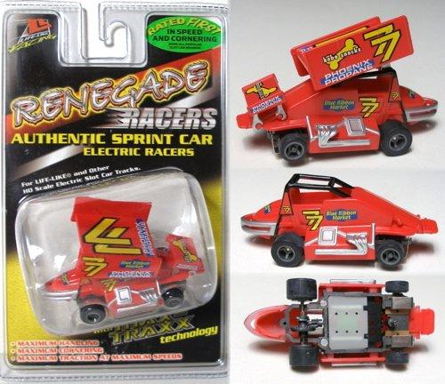Life Like 9850 #77 Phoenix Propane Sprint Car HO Slot Car