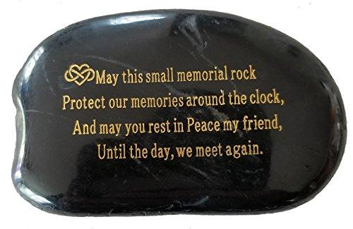 (Memorial Gift - Engraved Memorial Stone