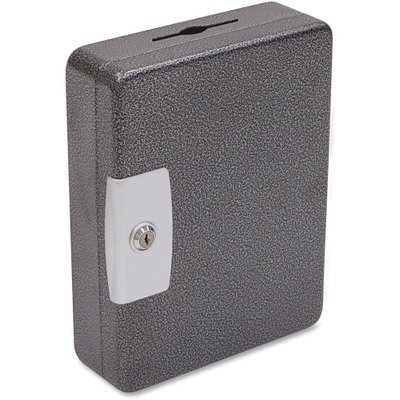 FireKing International Key Cabinet, 52 Tags, Black/Silver