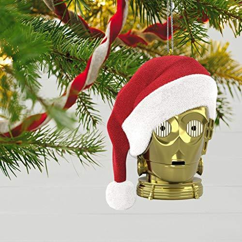 Star Wars Holiday Ornament - Hallmark Magic Keepsake Ornament 2018 Holiday C-3PO - Star Wars - #QXI3426