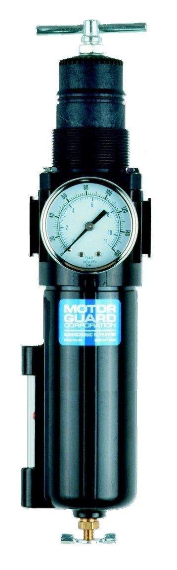 Motor Guard AC4535 1/2 NPT Combination Compressed Air Filter Regulator by Motor Guard