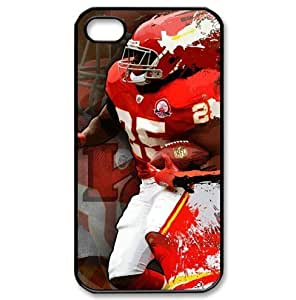 iPhone 4/4s hard case with Kansas City Chiefs Jamaal Charles image