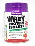 Bluebonnet Nutrition 100% Natural Whey Protein Isolate Powder, Strawberry Flavor, 1 Pound Review