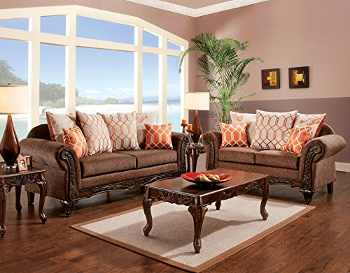 Furniture Of America Berberich Loveseat Best Sofas Online Usa