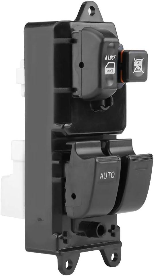 interrupteur de l/ève-vitre principal /électrique en plastique ABS c/ôt/é conducteur avant avant pour RAV4 2000-20058482042160 Interrupteur de l/ève-vitre /électrique Suuonee