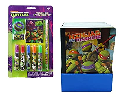 Amazon.com: Nickelodeon TMNT Teenage Mutant Turtles 9pc. 9pc ...