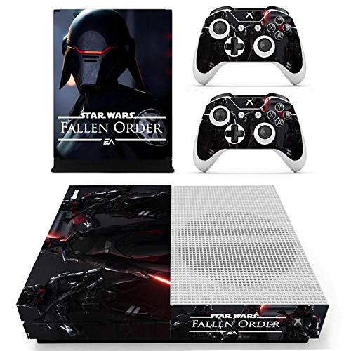 Science Fiction Xbox One S Skin Set Full Faceplates Skin Console & Controller Decal Stickers by Tullia