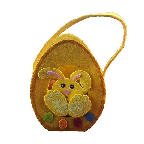 Amazon.es: Amosfun Las Bolsas de Asas de Pascua Conejo Lindo ...