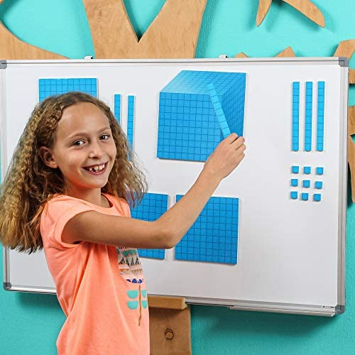 Power of Ten Base 10 Blocks Math Counting Blocks Yellow Count to 1000