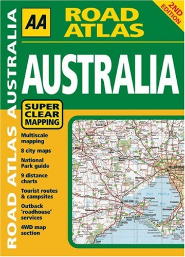 AA Road Atlas: Australia -