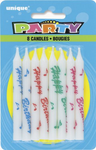 Unique 1952 Happy Birthday Candles