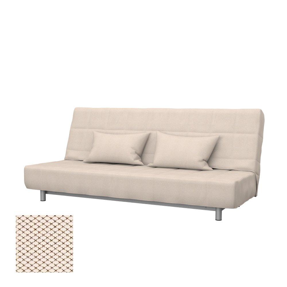 Soferia - Bezug fur IKEA BEDDINGE 3-er Bettsofa, Nordic Creme