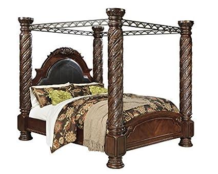 Strange Amazon Com Millennium North Shore Cal King Poster Bed W Evergreenethics Interior Chair Design Evergreenethicsorg