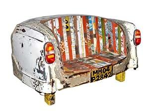 TAXI trasera banco sofá Multicolor Shabby Style Canett