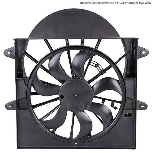 Tracker Condenser Cooling Fan - Condenser Or Radiator Cooling Fan Assembly For Chevy Tracker 1999 2000 2001 - BuyAutoParts 19-20683AN New