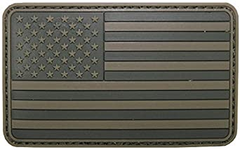 Parche de velcro, Estados Unidos, Color, 3D, tamaño: 8 x 5 cm ...