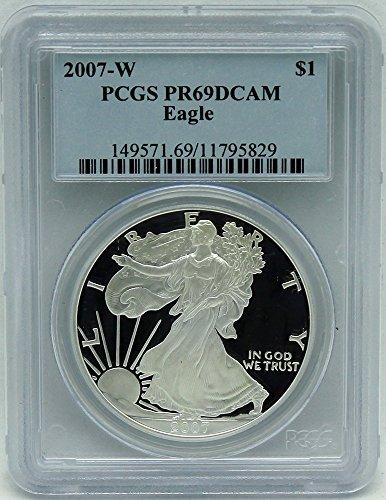 2007 W Silver Eagle $1 PCGS