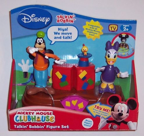 Direct Bobbin (Talkin' Bobbin' Figures 2-Pack: Goofy Magic Show with Goofy & Daisy)