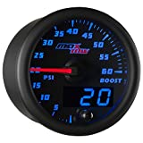 MaxTow Double Vision 60 PSI Turbo Boost Gauge Kit