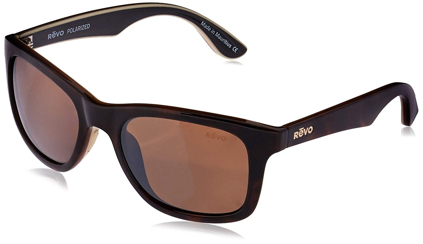 c43a5ff43c Revo RE1000-02BR RE1000 Huddie Tortoise - Terra Polarized Sunglasses   Amazon.co.uk  Clothing