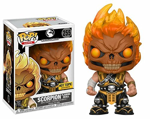 Funko Pop! Mortal Kombat - Escorpion (Flaming Skull) Exclusive #255