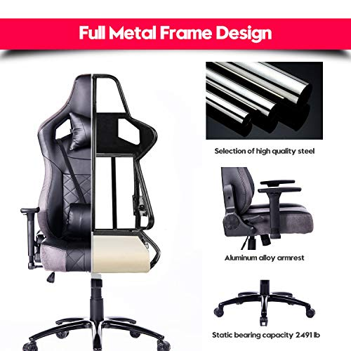 Big And Tall Gaming Chair Ergonomic Racing Style Computer