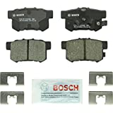 Bosch BC1086 QuietCast Premium Ceramic Rear Disc Brake Pad Set