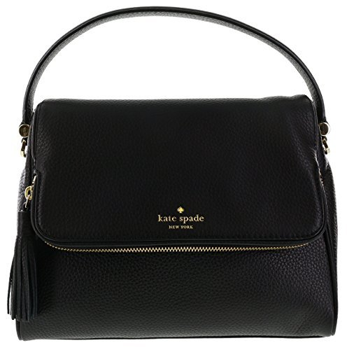 Kate Spade New York Chester Street Miri Pebbled Leather Shoulder Bag (Black) by Kate Spade New York