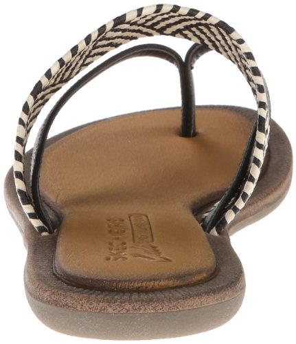 Flip Skechers Natural Cali Indulge Black Flop Z1qfgwz