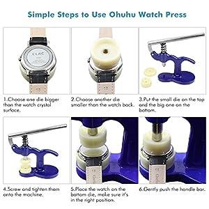 Ohuhu Repair Tool (Model: Watch Press Set)