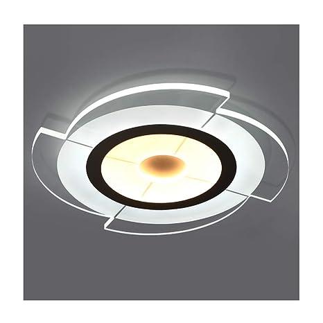 SOARLL Lámpara de Techo, diseño Moderno y Simple, acrílico ...