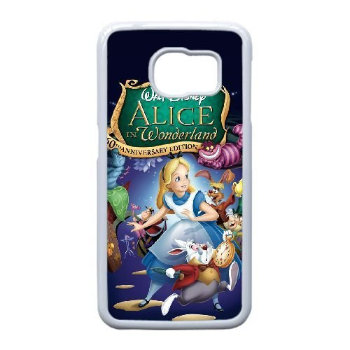 Samsung Galaxy S6 Edge case , Alice in Wonderland Cell phone case White for Samsung Galaxy S6 Edge - SDFG2226368