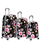 Rockland F150 Vision Polycarbonate Luggage Set, Pucci, One Size, 3-Piece