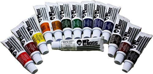 Bob Ross Landscape Oil Full Set of 14 Paints (37ml Tubes) by BobRoss