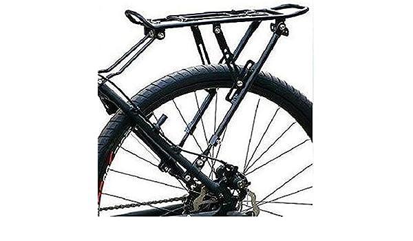 Vaxiuja Carrier Trasera para Bicicleta Disco de montaña de la Bici del Freno de Disco Bastidores Superior del Estante de Aluminio del Estante Montaña de cicloturismo Bicicleta al Aire Libre: Amazon.es: Hogar