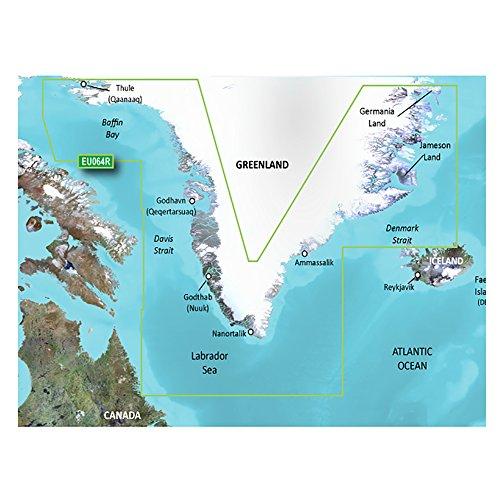 Garmin BlueChart g2 Vision - VEU058R - Greenland West - microSDTM/SDTM (35799)