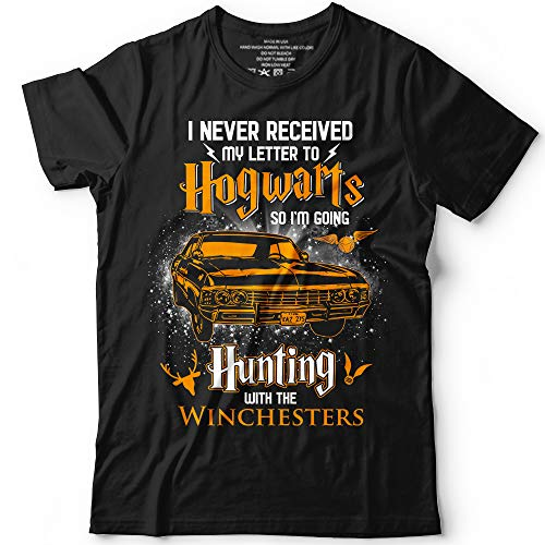 I Never Received My Letter So I'm Going Hunting With Winchesters Customized Handmade T-Shirt Hoodie/Long Sleeve/Tank Top/Sweatshirt ()