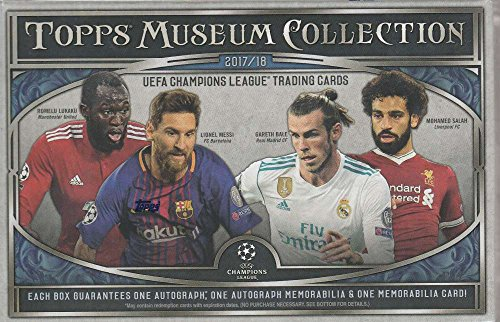 (2017-18 Topps Chrome UEFA Musuem Collection Soccer Hobby Box (1 Pack/8 Cards))