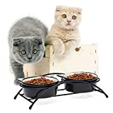 Y YHY Cat Bowls Elevated,Raised Cat Bowls for Food