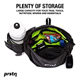 MTB Fanny Pack - Hydration Waist Pack - Lumbar Pack - Waist Pack Mountain Bike - A Bike Fanny Pack for Riding - This Hip Bag (2L) for Mountain Biking has a Bottle Holder & Room for Tools & Food. Black