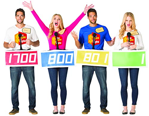 The Price is Right Contestant 4 Pack