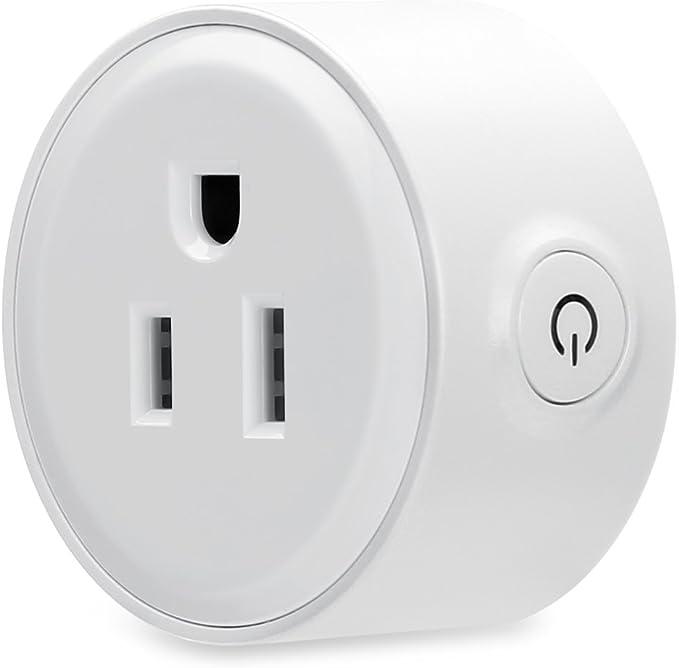 Oittm Wi-Fi Smart Socket casa mando a distancia inalámbrico ...
