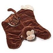 Gund Baby Nicky Noodle Monkey Comfy Cozy Baby Blanket