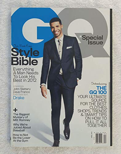 - Drake - First Ever Style Bible - GQ Magazine - April 2012