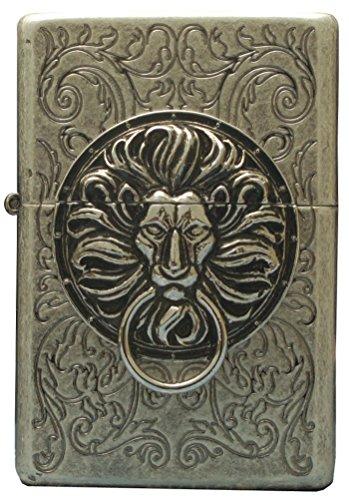 Zippo Lighter Genuine Tiger Lion Design the Gate Sa Emblem